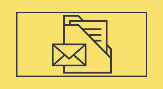پوشه و پاکت نامه